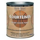 Bona CourtLines Sport Floor Paint - CASE OF 4 - NC Blue Quart
